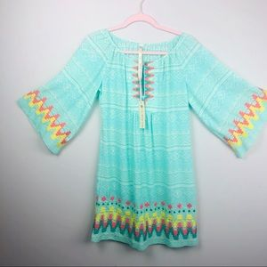 Anthropology uncle Frank boho dress XS Aztec